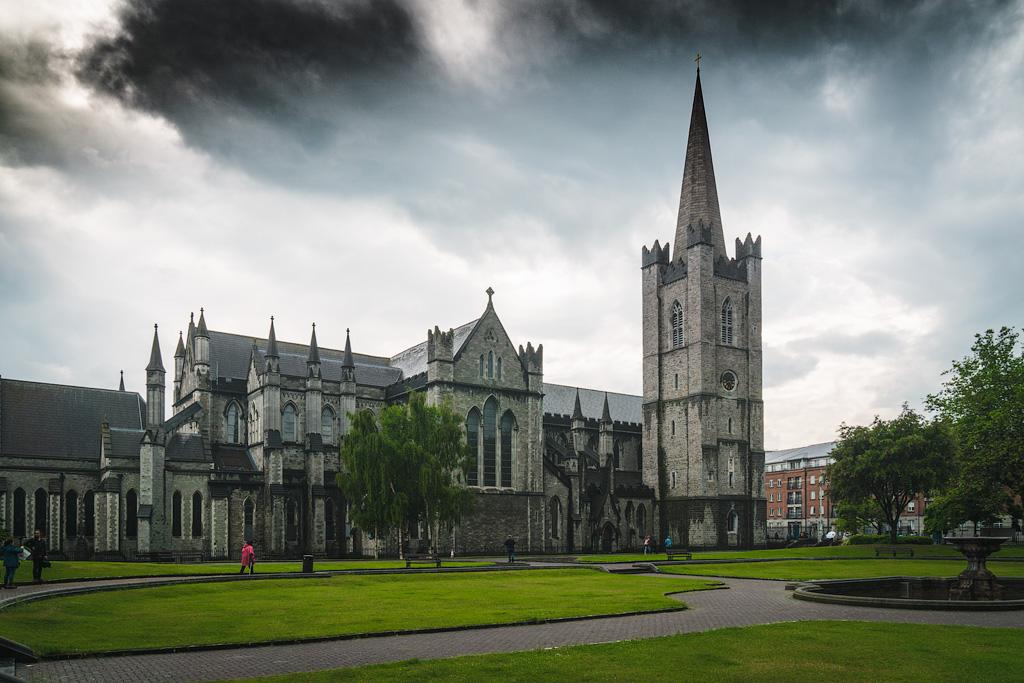 Что посмотреть в Дублине. Фото собора святого Патрика. Экскурсия по собору святого Патрика.
