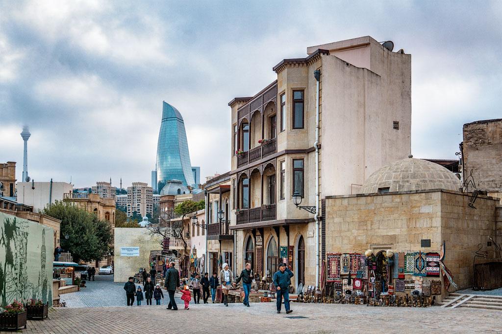 Что посмотреть в Баку за два часа. Достопримечательности Баку. Отзывы о Баку.