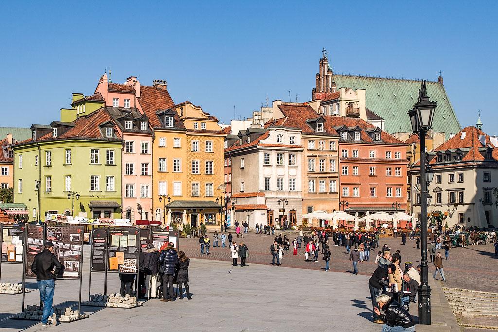 Интересные места в Варшаве. Маршрут по Варшаве.