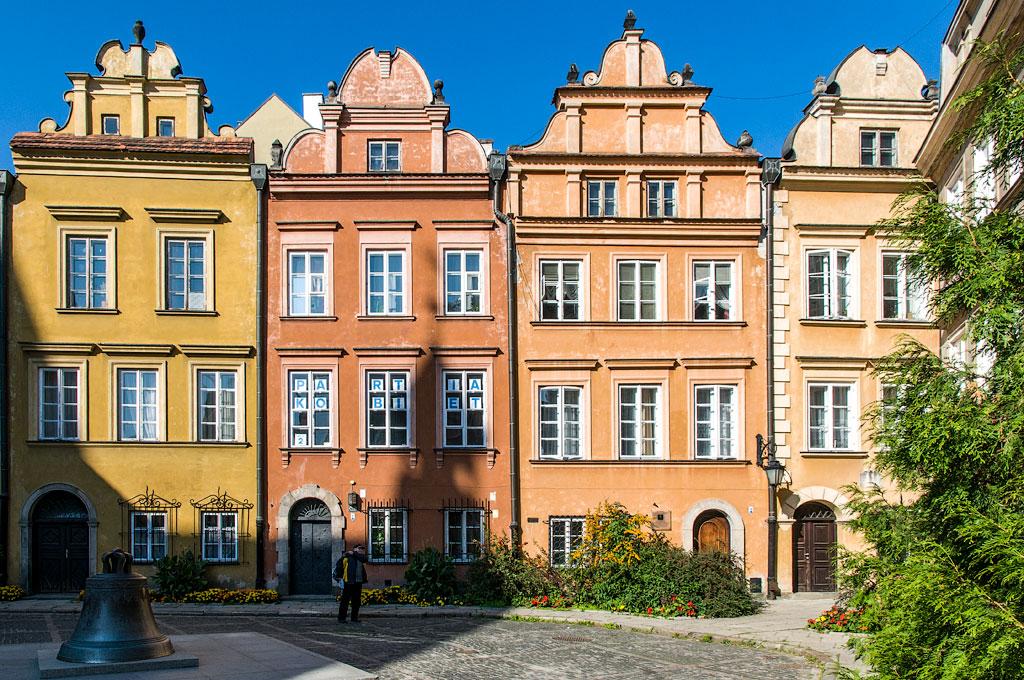 Достопримечательности Варшавы