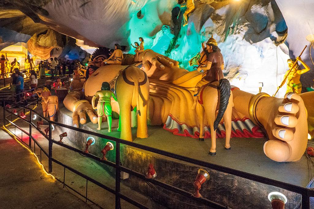 Достопримечательности Куала-Лумпур: пещеры Бату