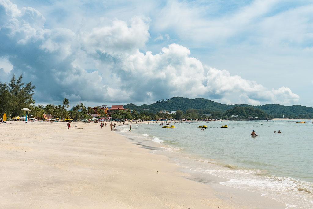 Отзыв о пляже Ченанг на Лангкави. Отзывы об отдыхе на Лангкави.