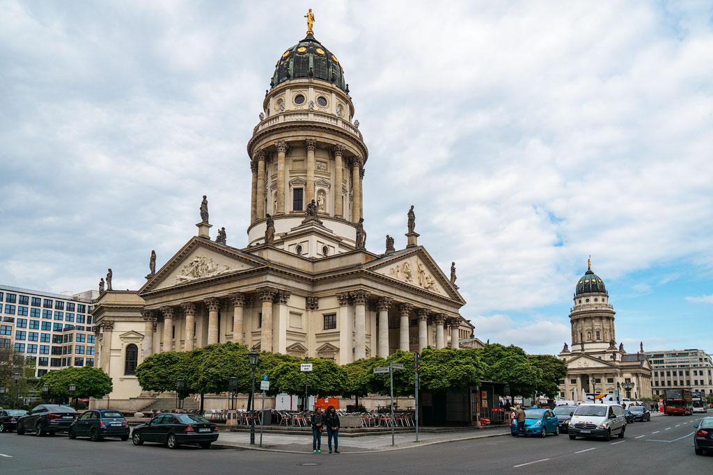 Маршрут прогулки по Берлину