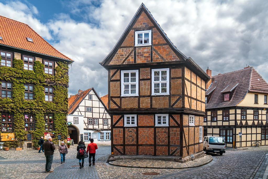 Что посмотреть в Кведлинбурге. Отзывы туристов о Кведлинбурге.