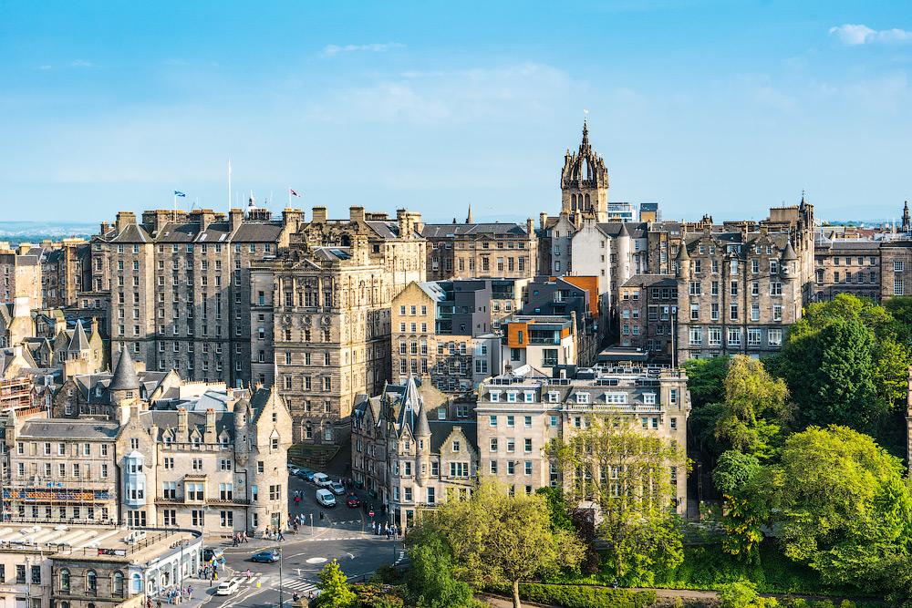 Достопримечательности Эдинбурга. Что посмотреть в Эдинбурге. Фото Эдинбурга.