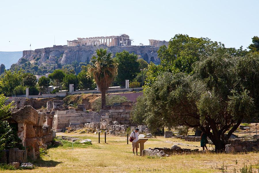 Греция Афины отчет Агора Керамейкос. Что посмотреть в Афинах за один день.