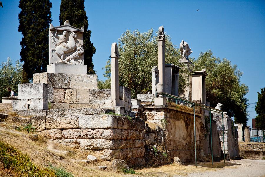 Греция Афины отчет livejournal Агора Керамейкос