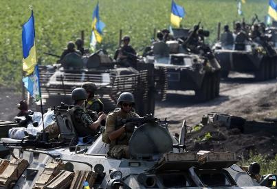 Где бы не ступила нога украинского карателя