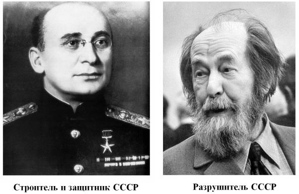 Берия-Солженицын