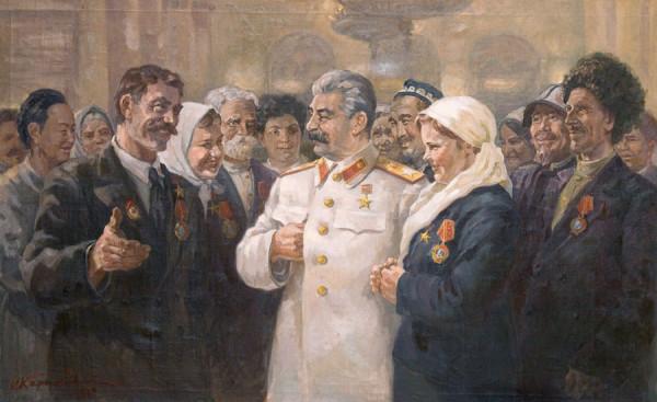 Сталин как буржуазный отец