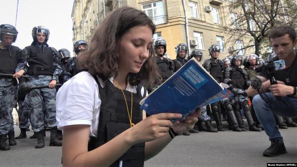 """""""Что говорят дети"""" по итогам либеральных протестов"""