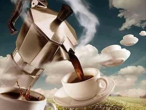чашки-кофейник
