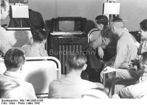 Юбилейная 50-я телетрансляция для раненных воиннов Вермахта