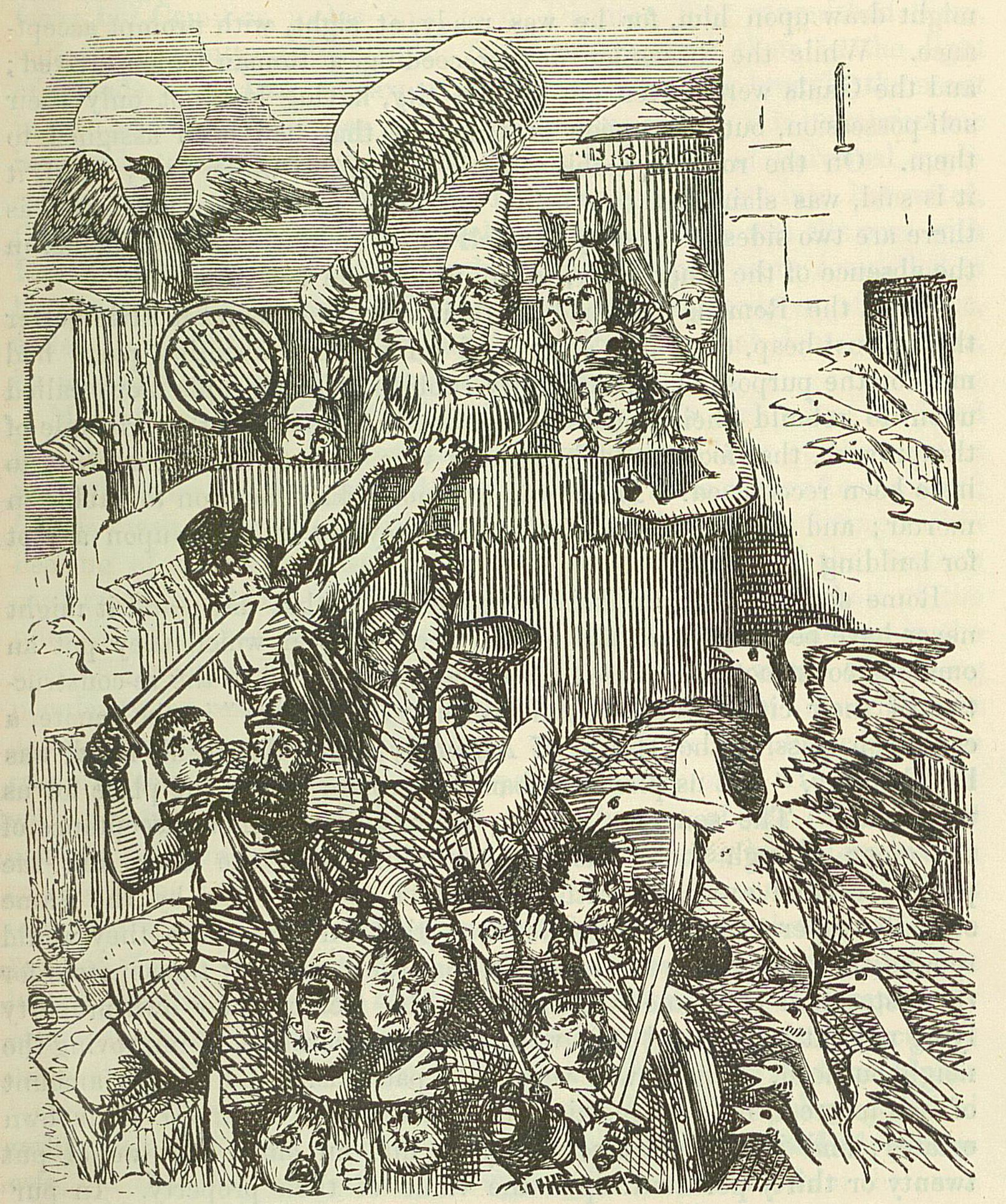 Comic_History_of_Rome_p_093_The_Citadel_saved_by_the_cackling_of_the_Geese