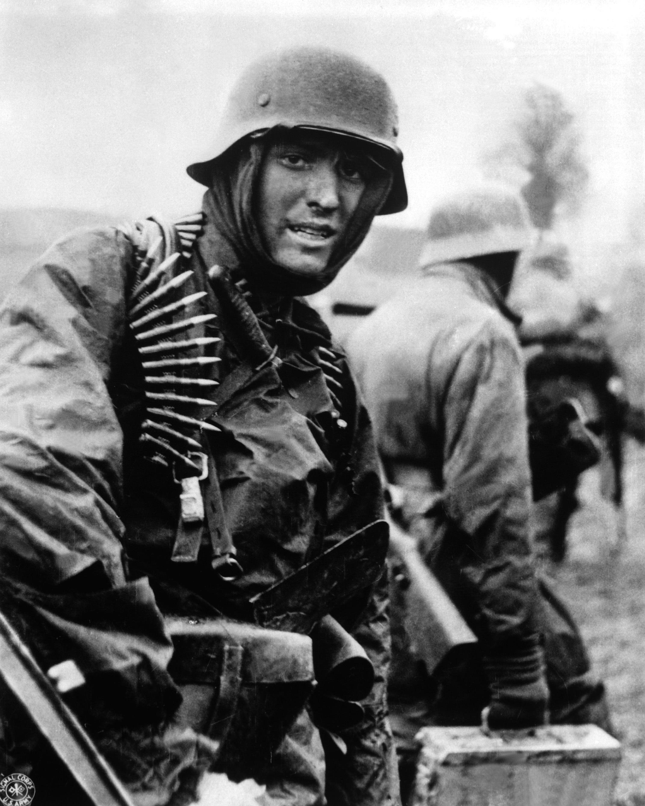 German soldier Ardennes