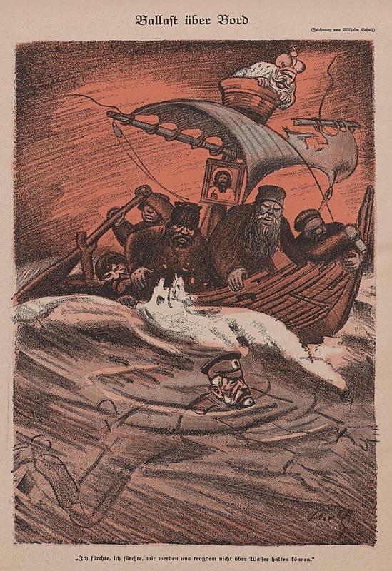 Ballast über Bord, Simplicissimus 28.09.1915