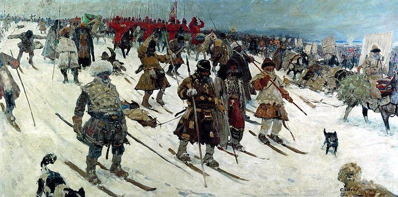 Campaign of Muscovites XVI century S.V. Ivanov, 1903