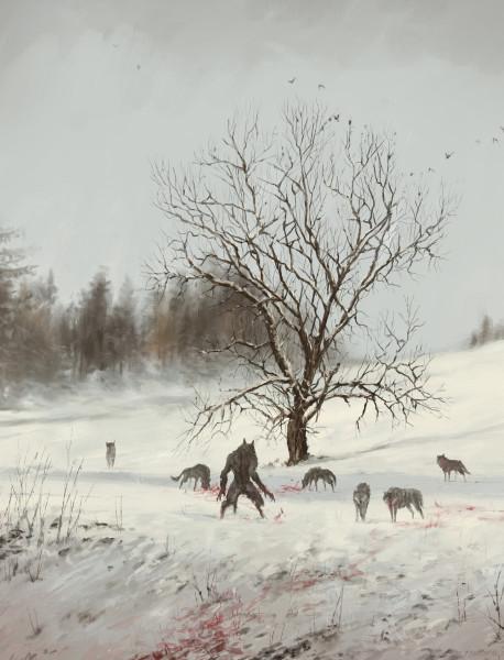 jakub-rozalski-wolfpack-winter01