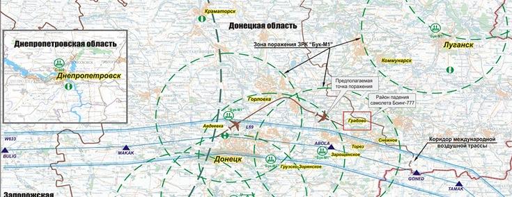 полет самолета до Донецка,
