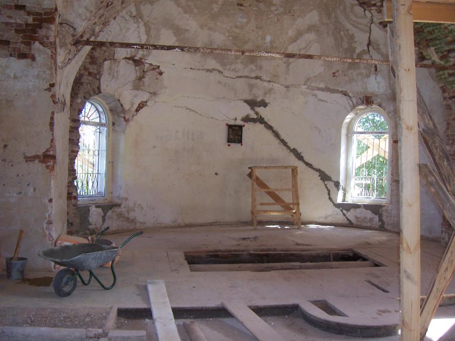Давыдово (Бор) Георгиевская Боросвидская церковь