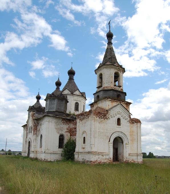 Богородице-Рождественская Хотеновская Церковь 2008-2009г.