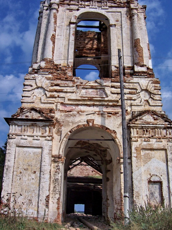 Троицкая Ухотская. Церковь Троицы Живоначальной. 1797 год.