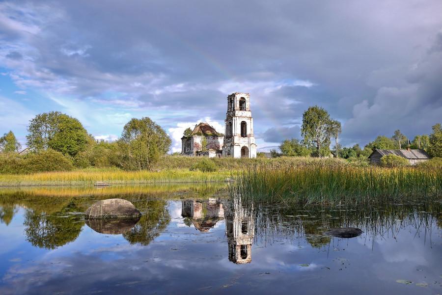 Ухта. Троицкая Ухотская Церковь