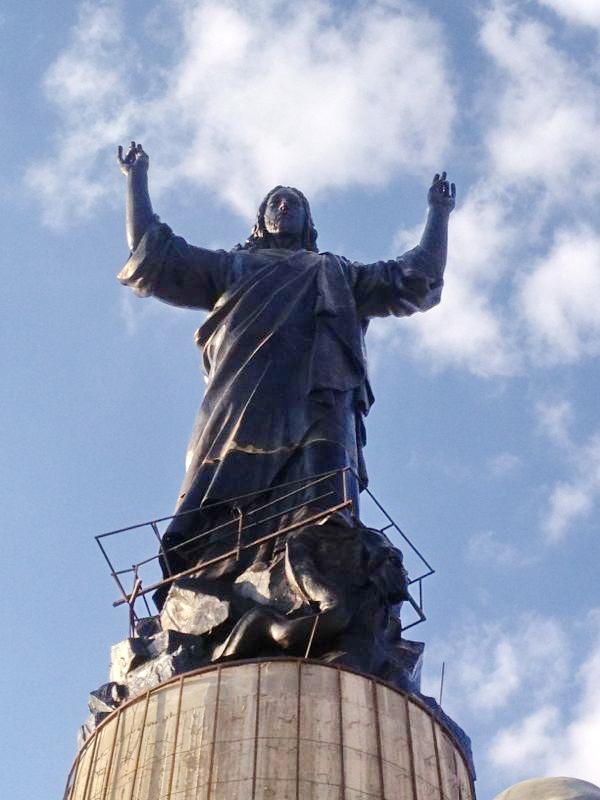 Cherubim_Convent_monastery_2013_10_14_Jesus_Christ_monument_3_Deir_Ash Sherubim_www_mpda_ru