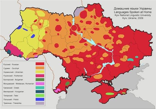 map_Ukraine_linguistics_Kyiv_National_Linguistic_University