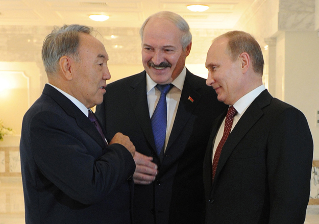 Customs_2013_10_24_Minsk_EurasCommission_01_Lukashenko_Nazarbaev_Putin_ITAR-TASS_M_Klimentyev