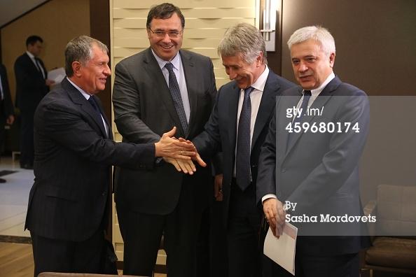 Total_Pouyanne'_Patrick_2014_11_28_Putin_Sochi_8_Sechin_Pouyanne_Michelson_Alekperov_GettyImages_Sasha_Mordovets