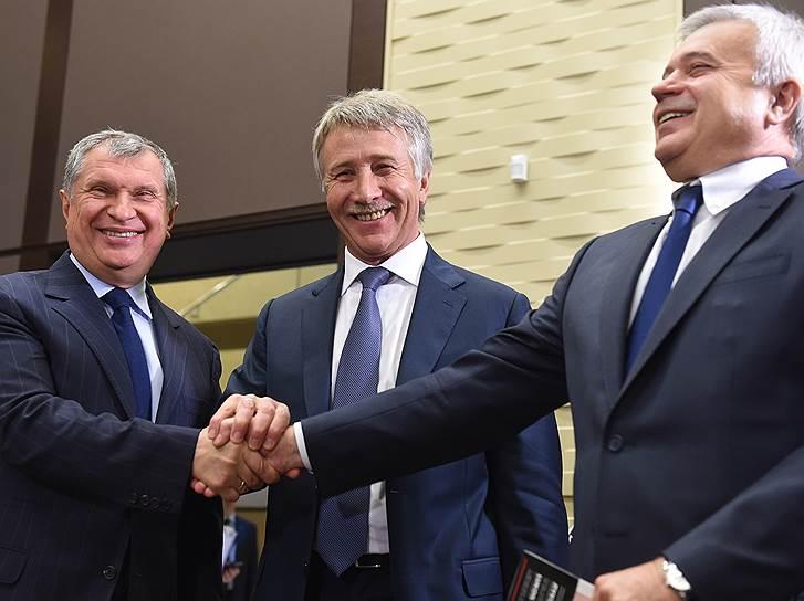 Total_Pouyanne'_Patrick_2014_11_28_Putin_Sochi_6_Sechin_Michelson_Alekperov_Kommersant_Dmitriy_Azarov