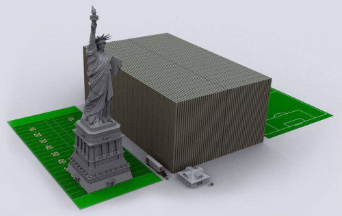 dollar_US_debt_in_dollars_Yznaj_com_8_thickness_15_trillions_dollars_Freedom_Statue