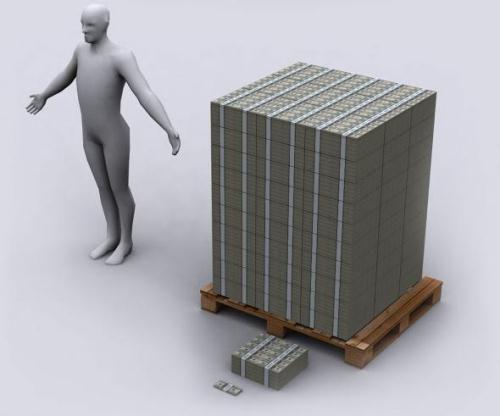 dollar_US_debt_in_dollars_Yznaj_com_5_thickness_100_million_dollars_on_pad