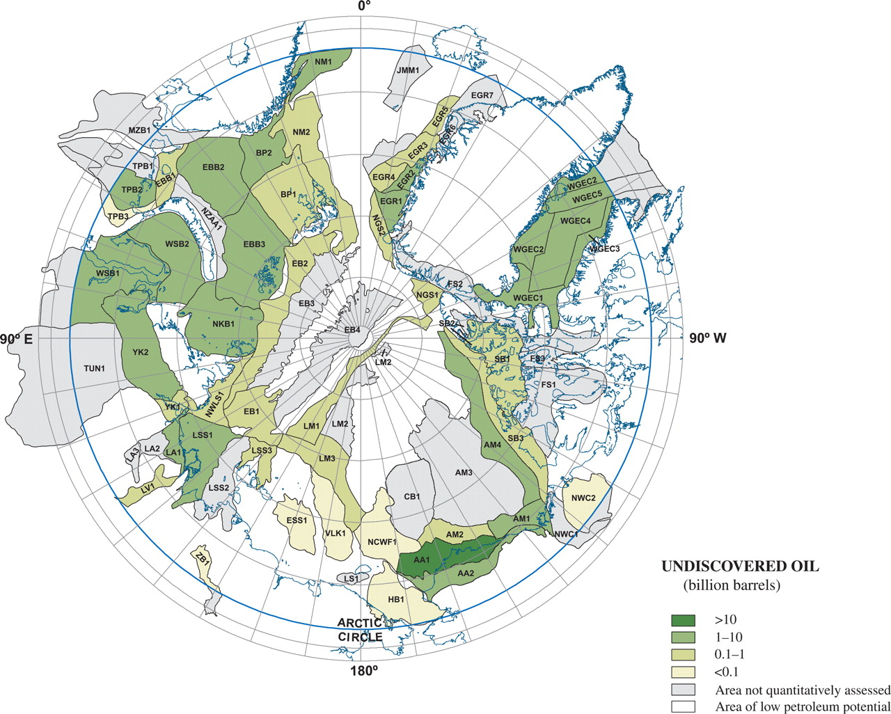 map_Arctic_borders_hydrocarbon_oil_undiscovered_resources_2009