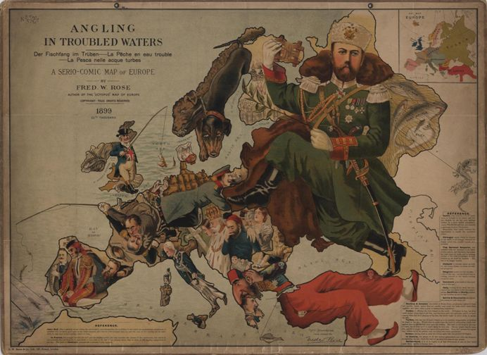 map_war_Europe_1899_Angling_in_Troubled_waters