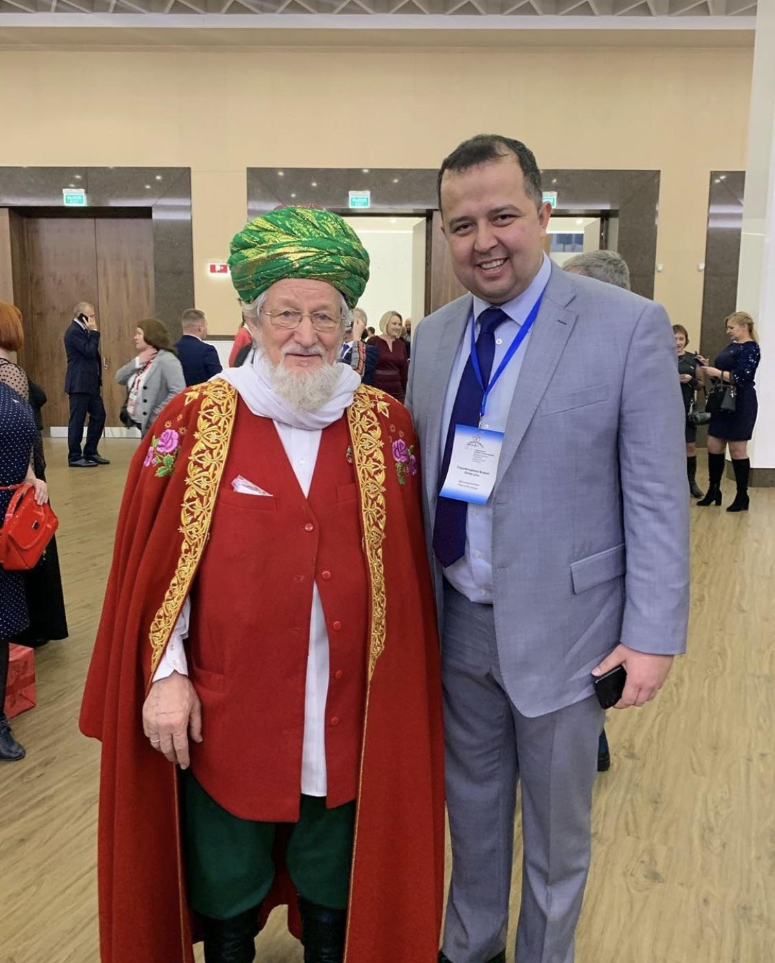 С Талгатом Сафичем Таджутдином!