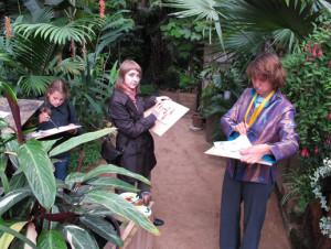 Фестиваль У-син в Ботаническом саду МГУ