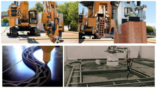 Cтроительная 3D-печать vs. Роботы-каменщики