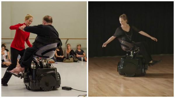 танцевальная коляска
