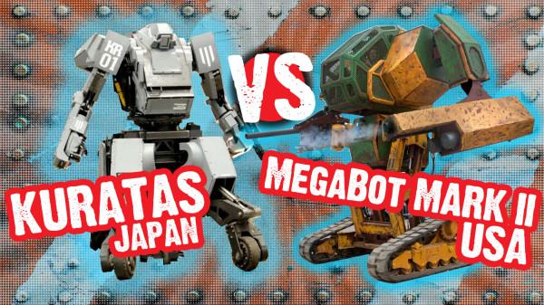 KURATAS VS MEGABOT MK.2