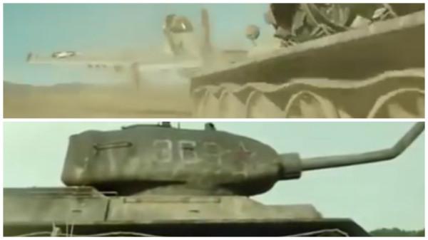 MUSTANG vs T-34