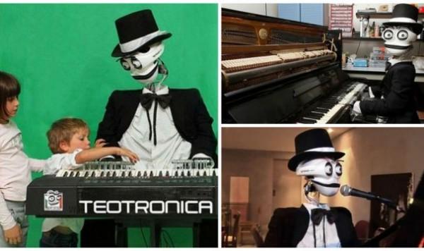 робот-пианист