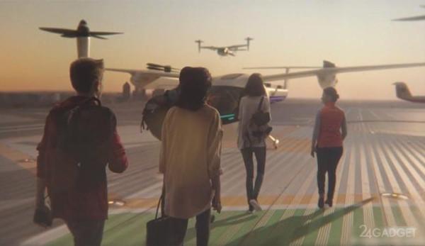 УБЕР и НАСА решили обогнать Дубай в сроках отрытия первого в мире беспилотного авиатакси