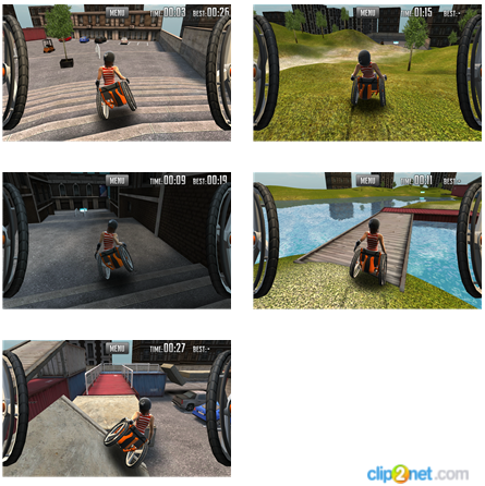 Extreme Wheelchairing: симулятор езды на инвалидной коляске