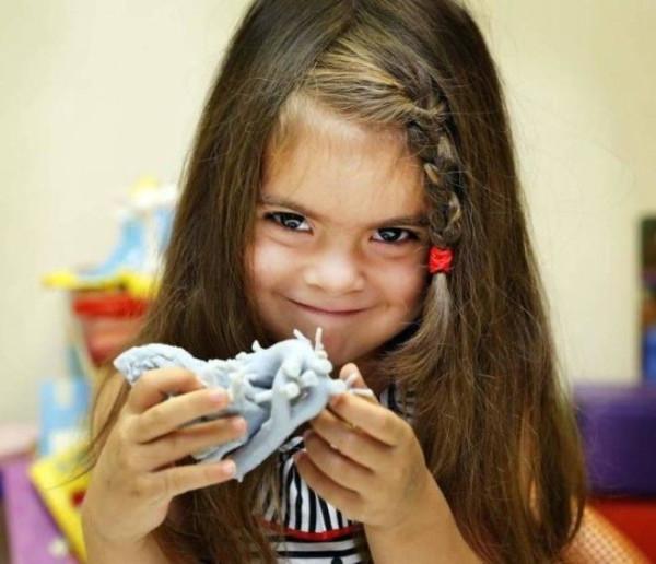 Сердце, напечатанное на 3Д-принтере, спасло 4-летнюю девочку