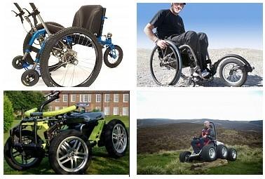 Очередная подборка инвалидных колясок-внедорожников