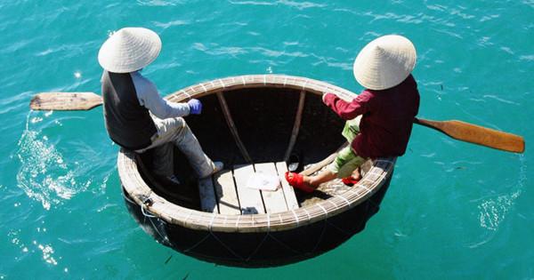 Почему вьетнамские лодки круглые