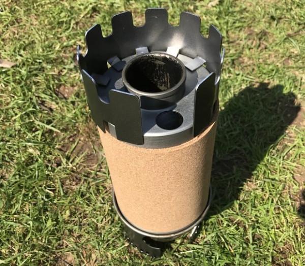 Компактная печь Rocketboil готова работать на любом мыслимом топливе