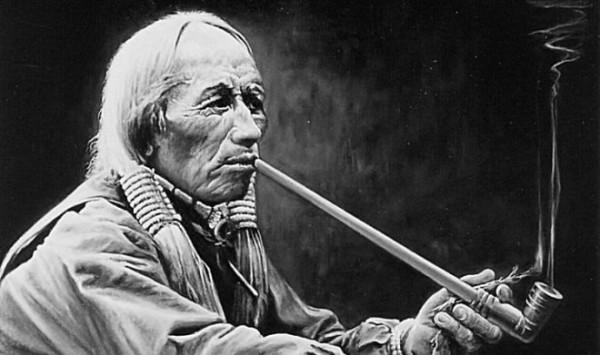 Что курили индейцы Северной Америки до того как перешли на табак